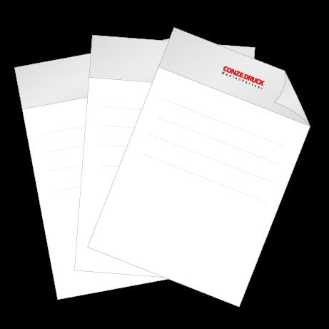 Briefpapier Pantone | DIN A4 einseitig | 1/0-farbig