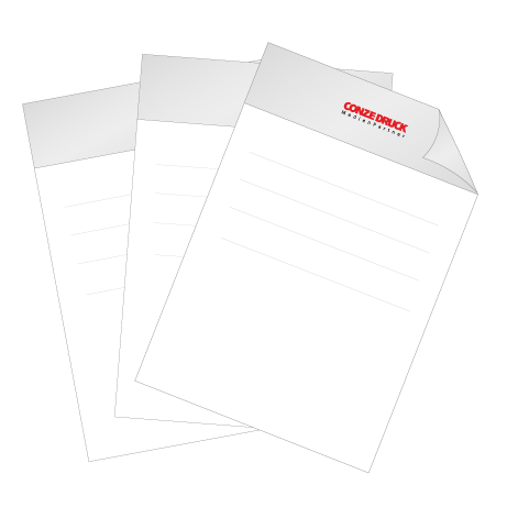 Briefpapier Pantone   DIN A3 einseitig   4/0-farbig